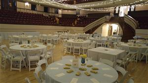 Main auditorium wedding